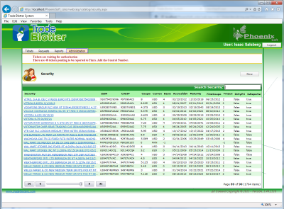 trade-blotter-Manage Security New